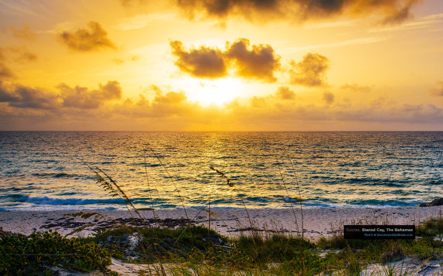 Sunrise, Staniel Cay, The Bahamas