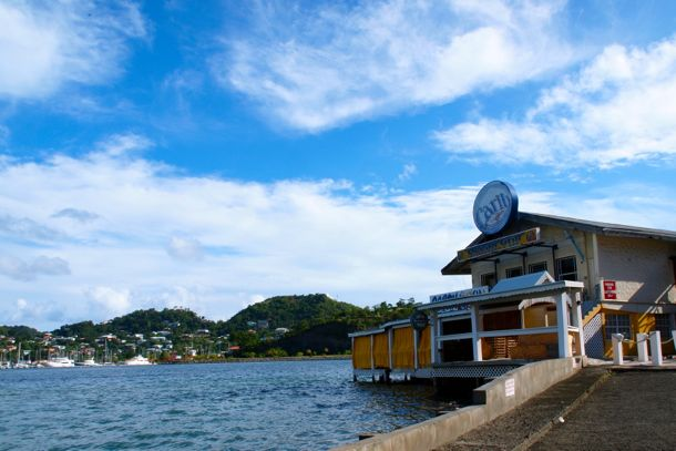 Waterfront watering hole on The Carenage, Grenada | SBPR