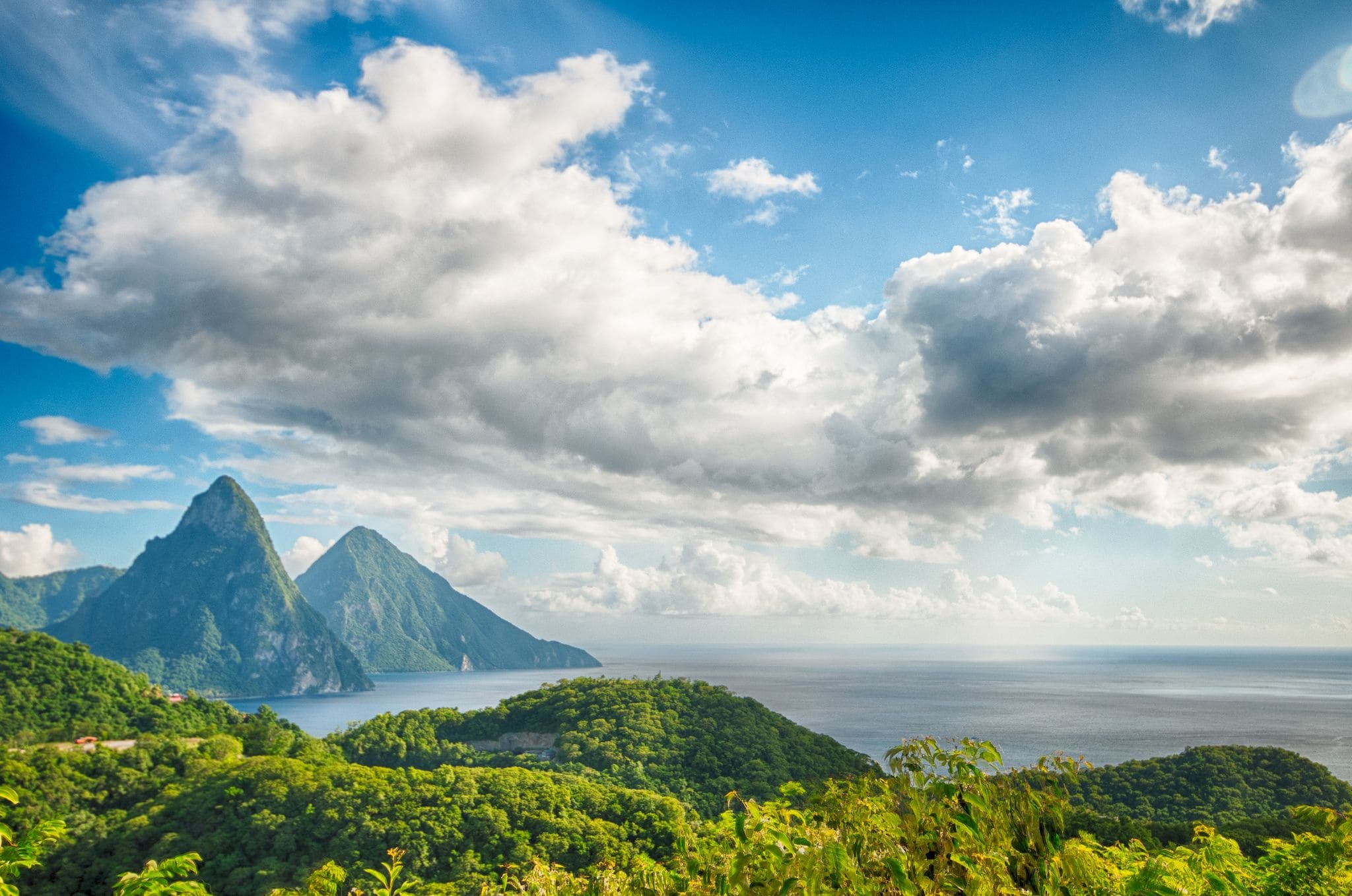 Super sexy St. Lucia, home of Chairman's Spiced Tea | Credit: Flickr user Jon Fife