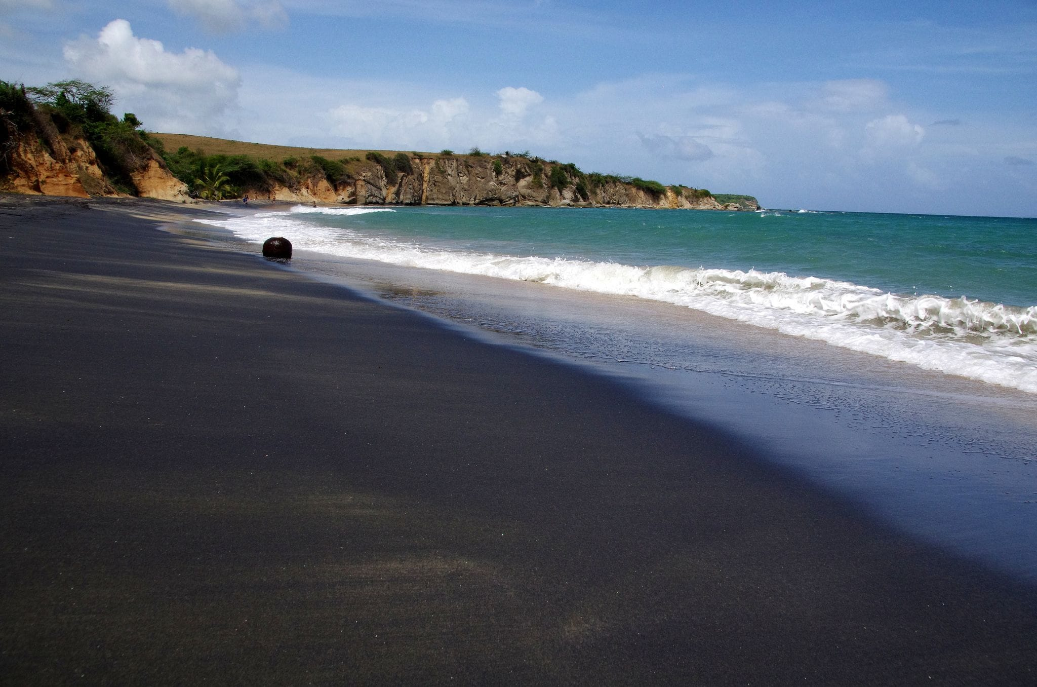 Playa Negra Black Sand Beach, Vieque