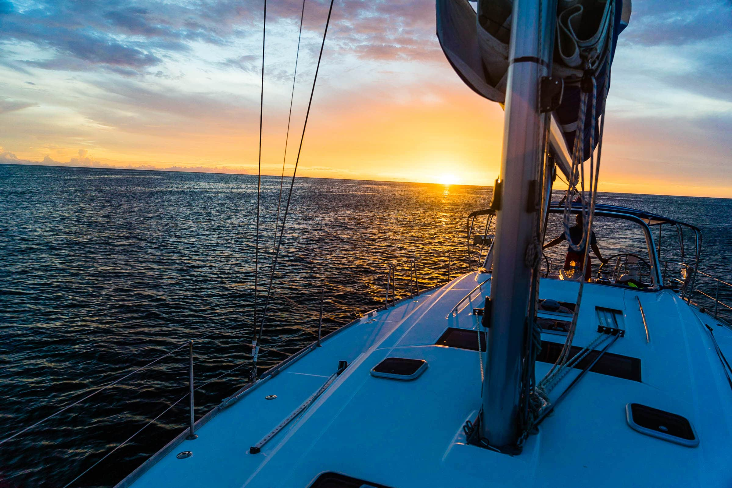 Sailing in the Grenadines 7 by Patrick Bennett