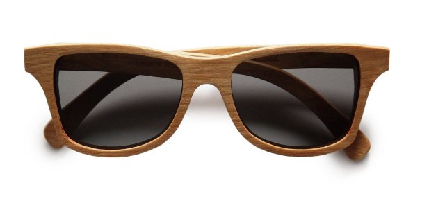 Shwood Polarized Wood Wayfarer Sunglasses