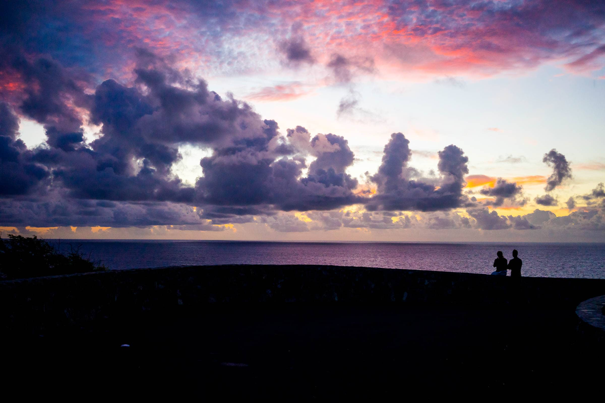 Sunrise at Point Udall, St. Croix by Patrick Bennett