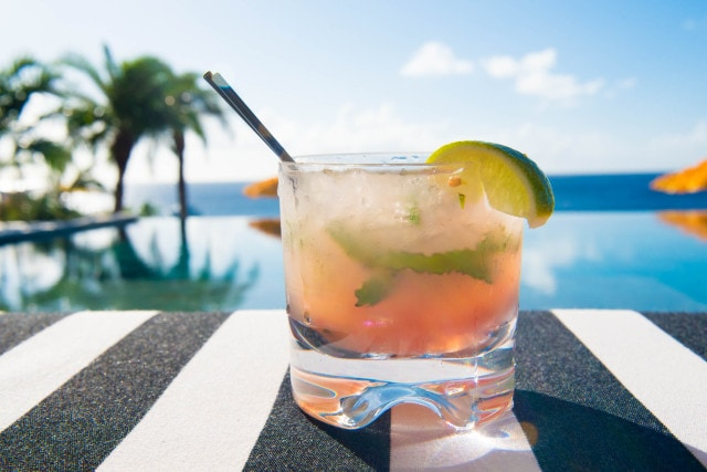 Malliouhana Luxury Resort Anguilla - Pool Cocktail by Patrick Bennett