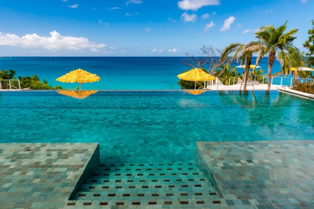 Malliouhana Luxury Resort Anguilla - Pools by Patrick Bennett