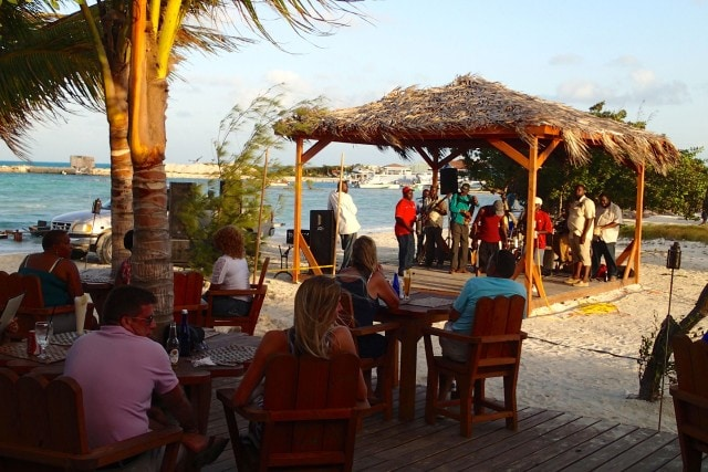 Lee Forbes and the Island Boys performing at Bugaloo's Conch Crawl | SBPR