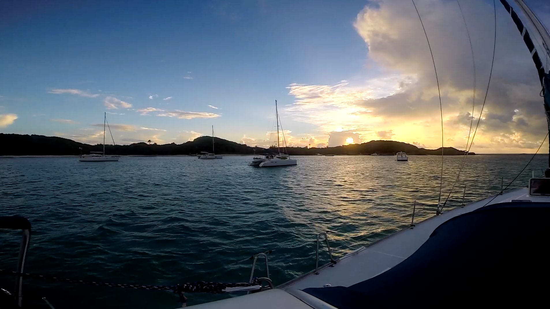 Grenadines Sailing Escape by Patrick Bennett