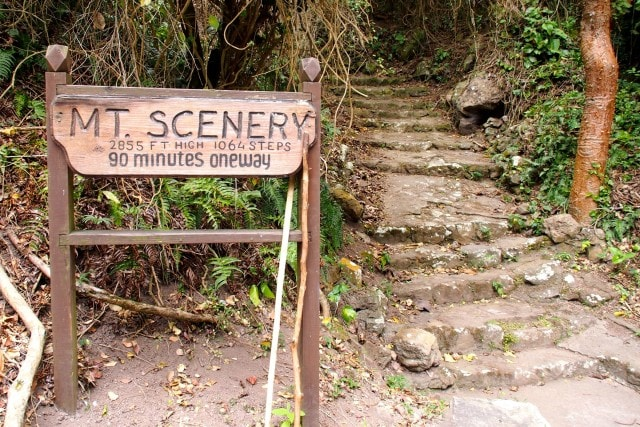 Sign of a good hike to come...? | SBPR