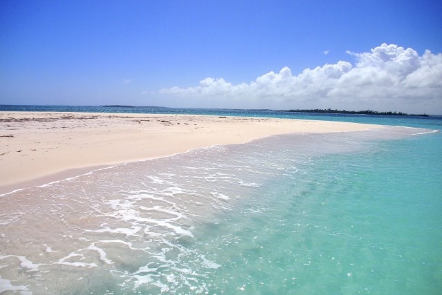 Everything's beachy at Pelican Cay, Abaco, The Bahamas