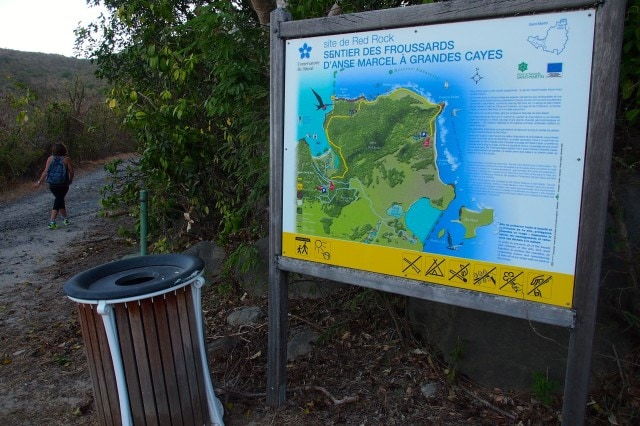 Secret Beach Trail Sign | SBPR