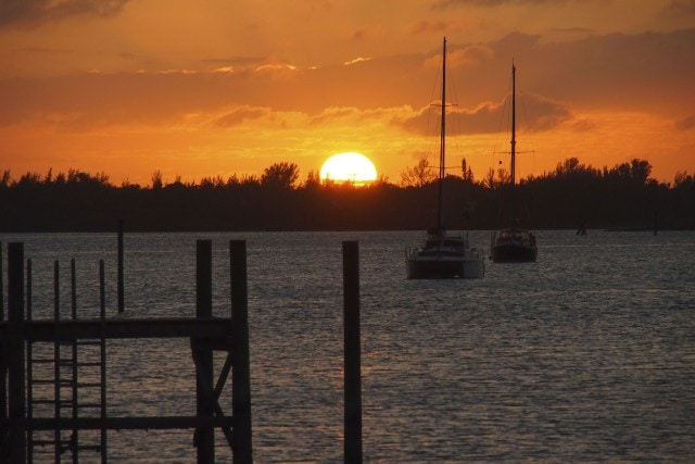 Sunset at Snappas Grill and Chill | SBPR