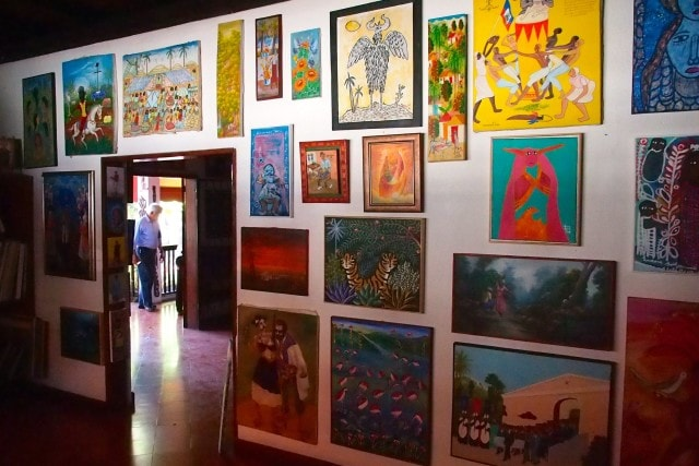 Upstairs at Galerie Monnin, Haiti | SBPR