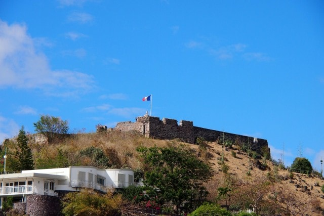 Fort Louis from just outside Cisca's in Marigot, St. Martin | SBPR