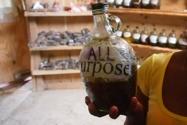 All Purpose bush rum, Dominica | SBPR