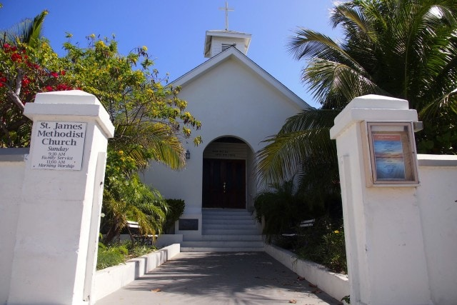 St. James Methodist Church in Hope Town, Elbow Cay, The Bahamas | SBPR