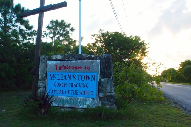 This sign at the entrance to McLean Town says it all | SBPR