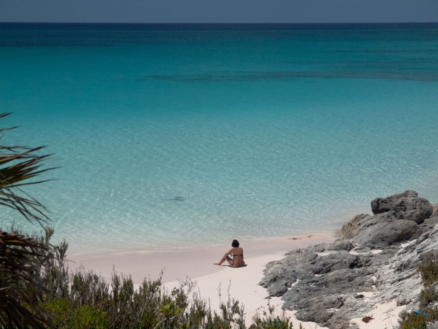 Enjoying Lighthouse Beach all to yourself | Credit: Flickr user Tommaso Galli