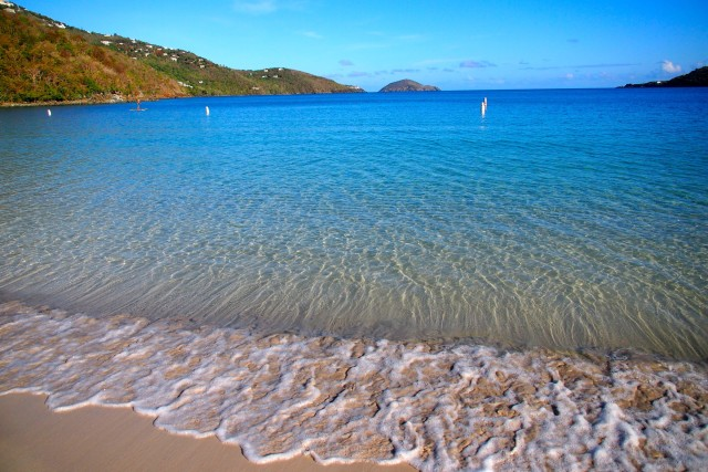 View of Outer Brass Island from the shores of Magens Bay, St. Thomas | SBPR