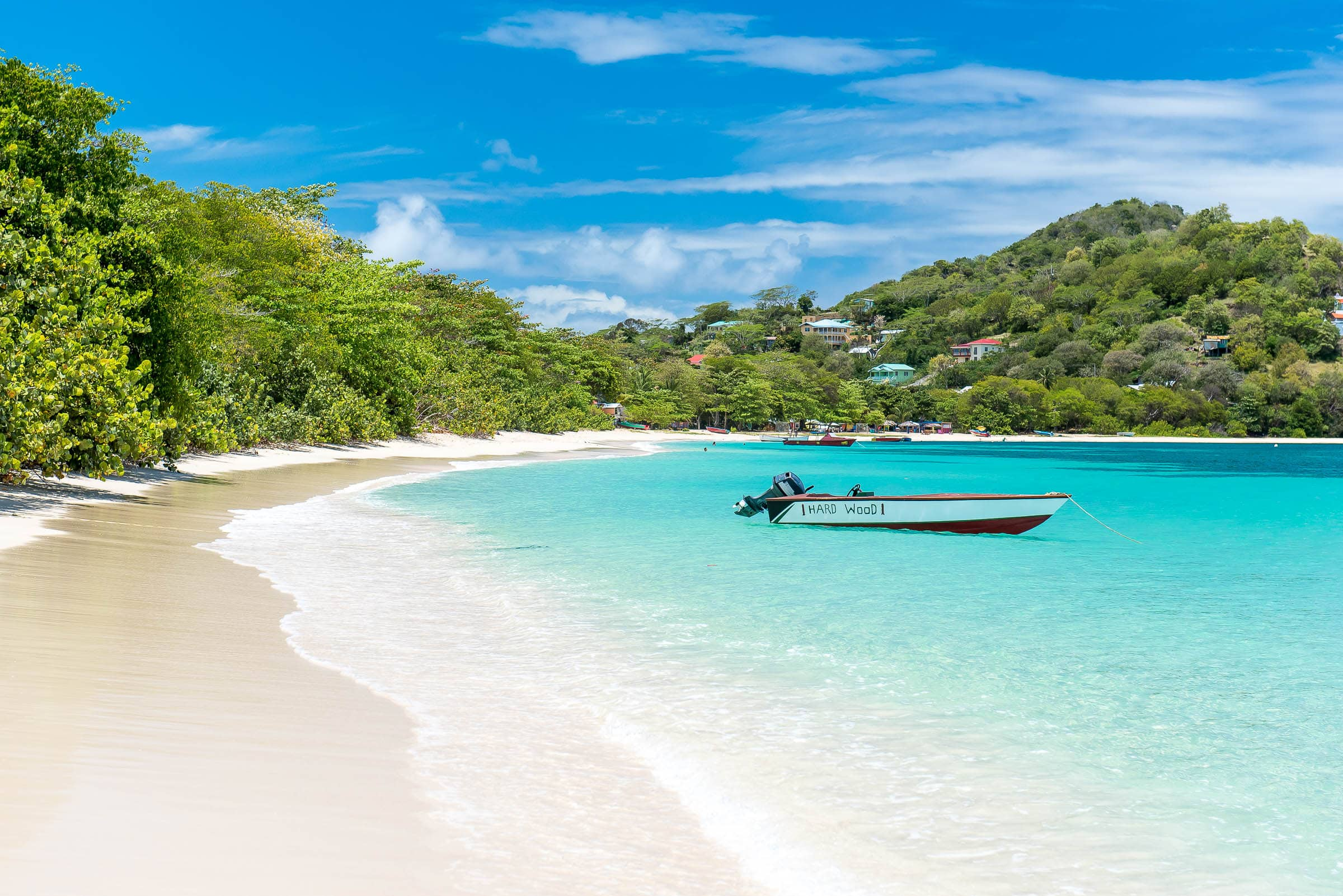 Paradise Beach, Carriacou by Patrick Bennett