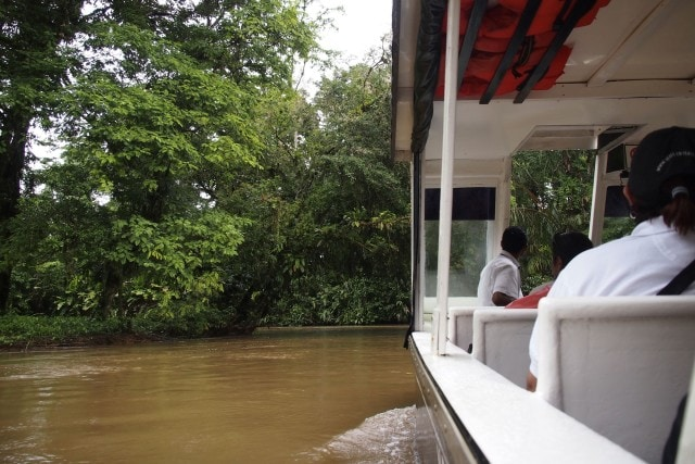 On the boat to Mawamba Lodge, Costa Rica | SBPR