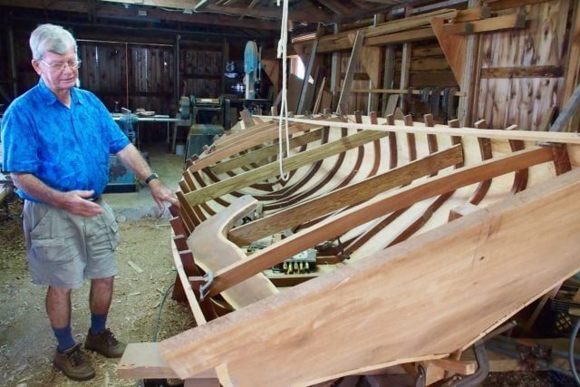 Joe Albury, hard at work continuing The Bahamas' most storied boat-building tradition | SBPR