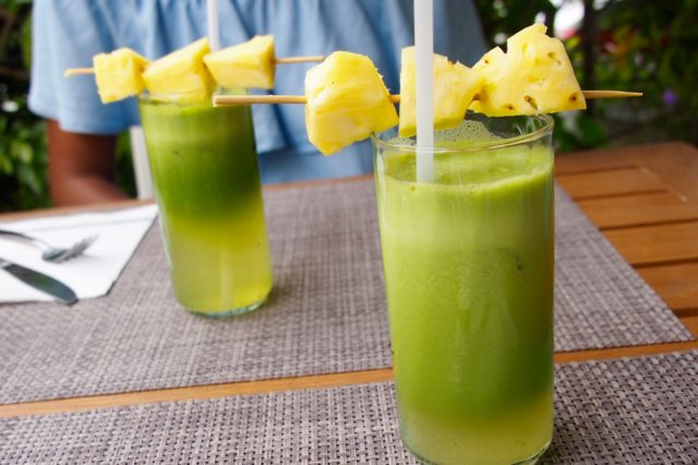 Green juice delight at Natural Cafe, French Saint Martin | SBPR