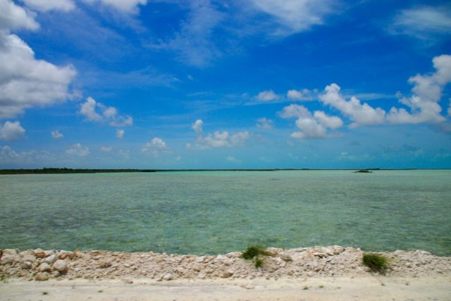 Driving South from North Caicos   SBPR