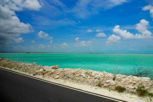 On the road between North Caicos and Middle Caicos | SBPR