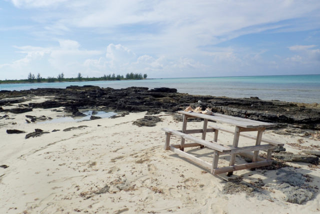 Secluded snack spot somewhere in The Bahamas | SBPR