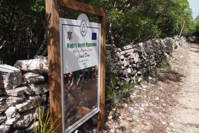 Wade's Green Plantation Welcome Sign | SBPR