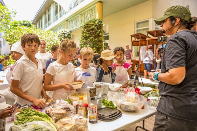 Kids get in on the fun of Slow Food Day in the Cayman Islands