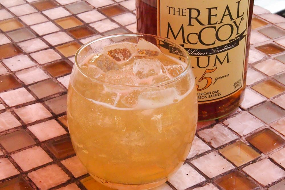 Dirty Barbados Cocktail featuring Real McCoy 5