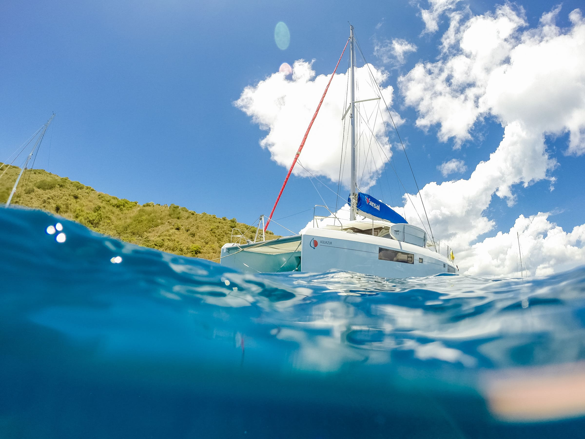 Sailing British Virgin Islands by Patrick Bennett