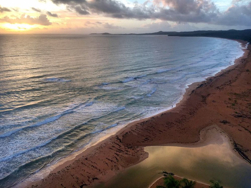Sunrise over Luquillo, Puerto Rico
