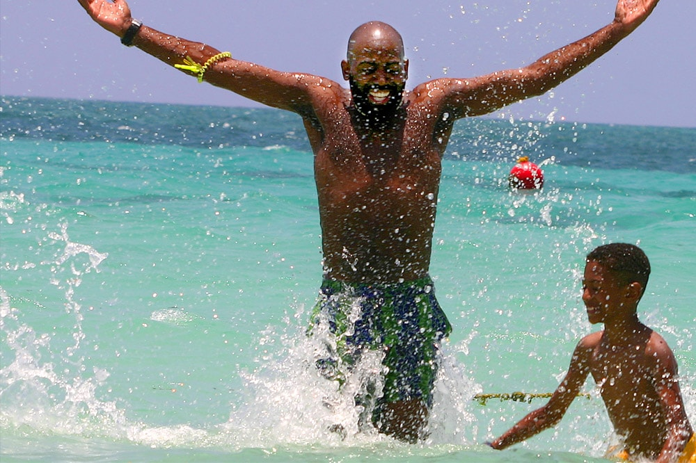 Playtime in Negril, Jamaica