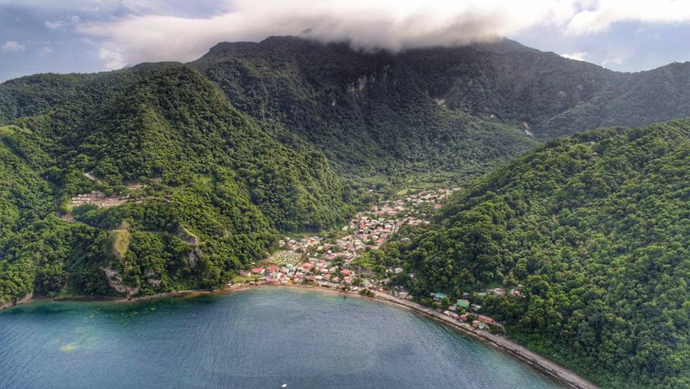 Soufiere, Dominica before the storm | Credit: Images Dominica