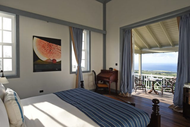 Great views are a give no matter where you lay your head at Belle Mont Farm, St. Kitts
