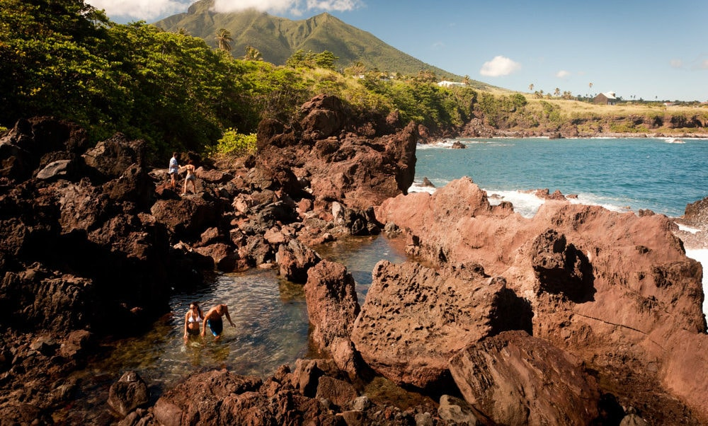 Natural Pools at Black Rocks, St. Kitts