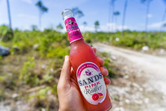The Bahamian Brewery Sands Pink Radler