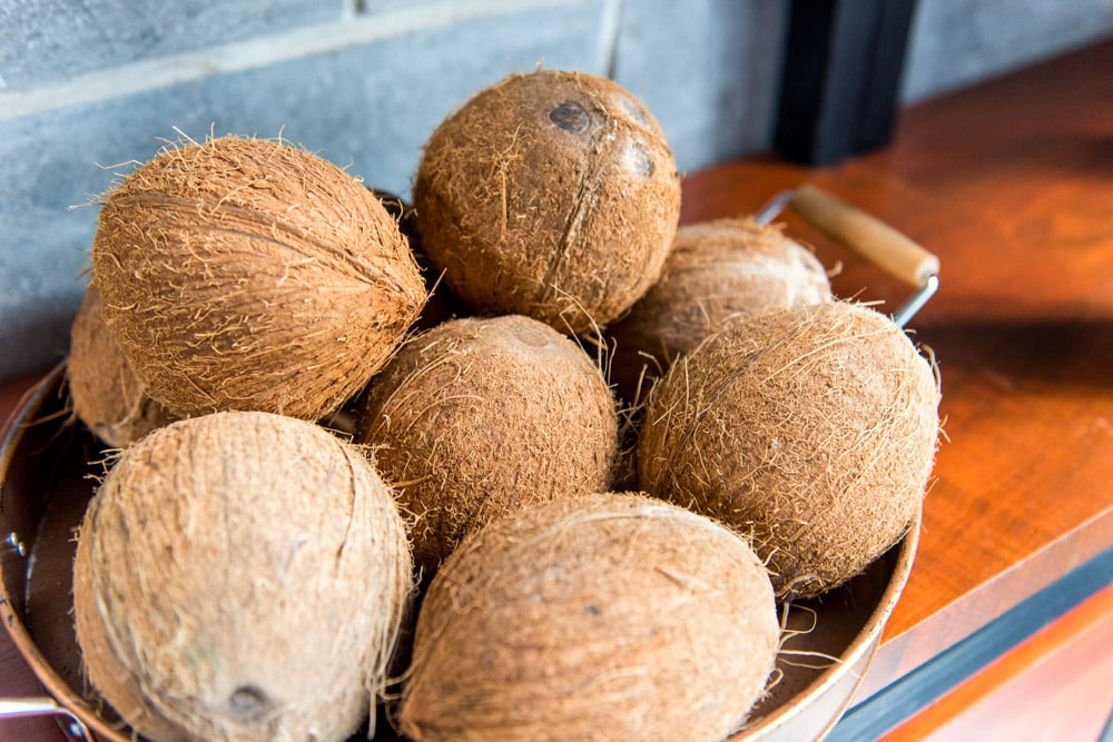 St. Kitts coconuts | Credit: Patrick Bennett