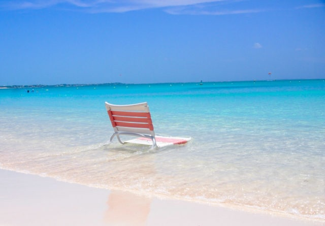 Best seat in the house at Ocean Club Resort, Provo, Turks and Caicos | SBPR