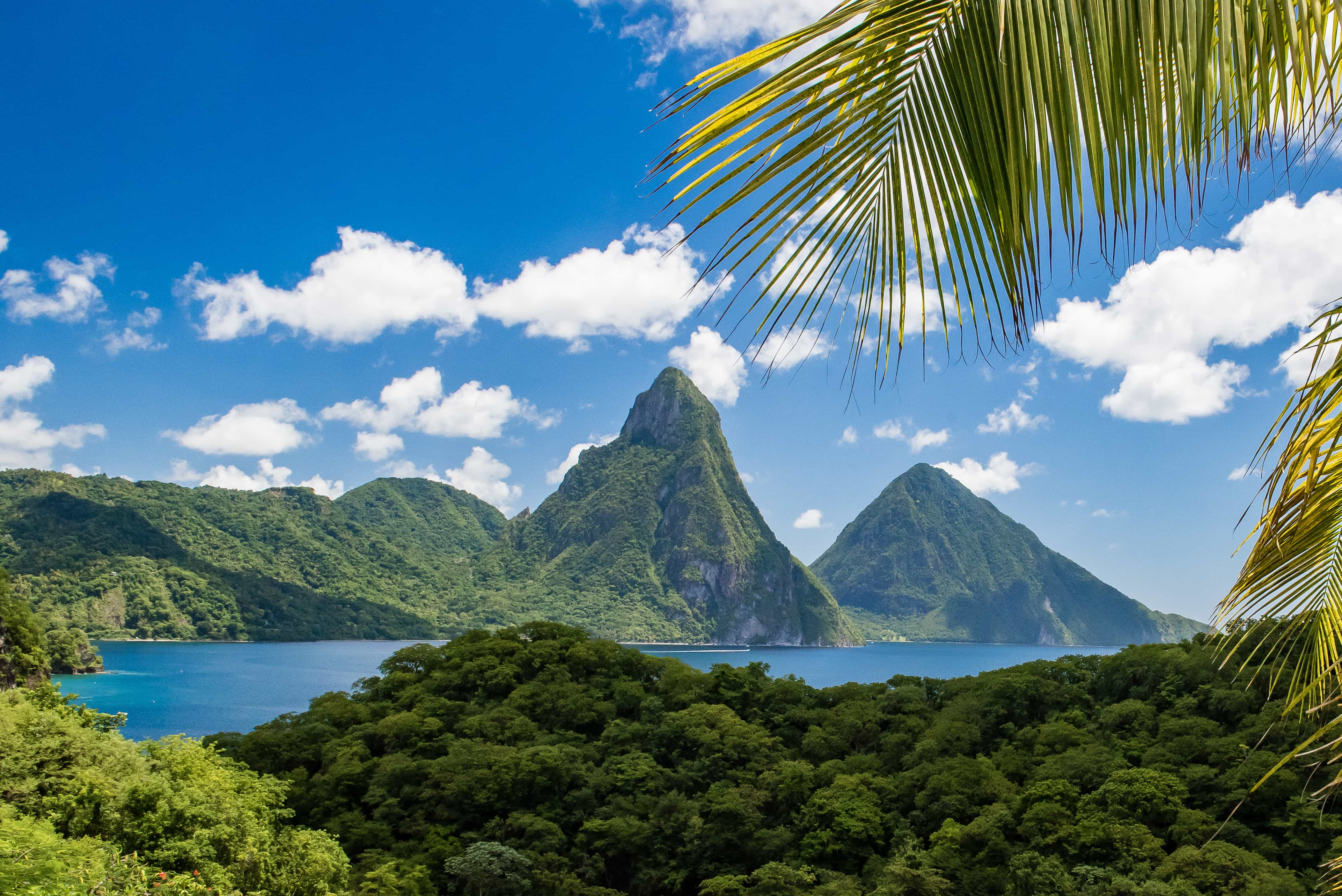 St. Lucia, The Pitons