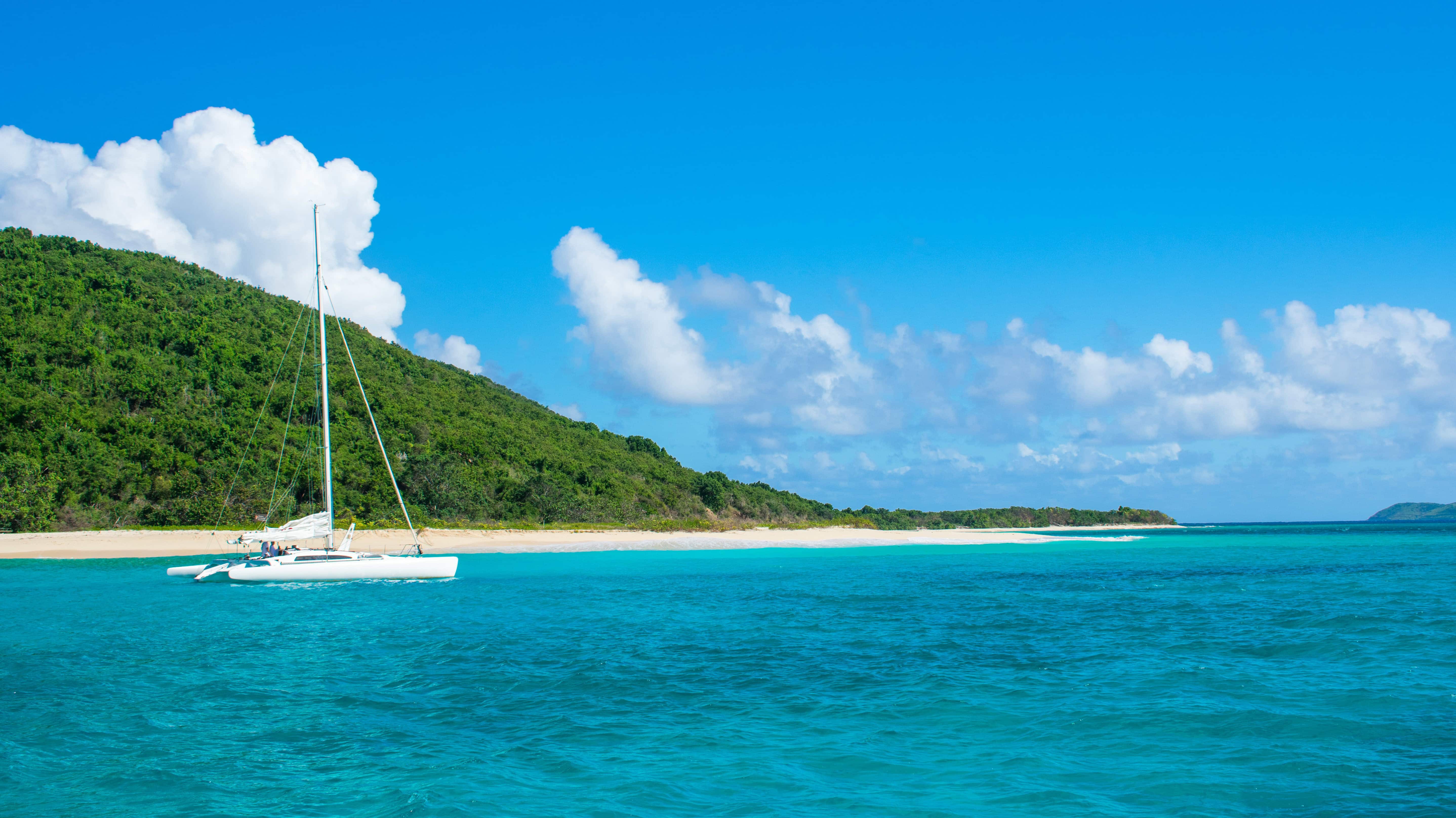 Cruising the beach at Buck Island, St. Croix | SBPR