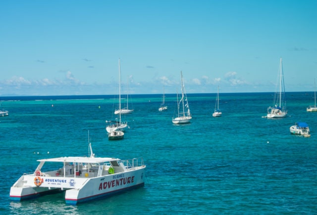 Boats at rest in Christiansted Harbor, St. Croix | SBPR