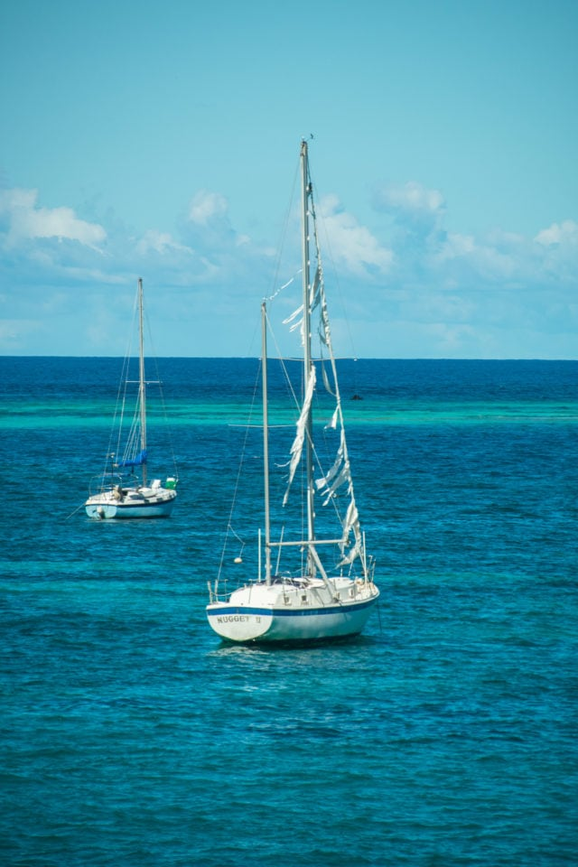 Tattered Sails in Christiansted Harbor, St. Croix | SBPR