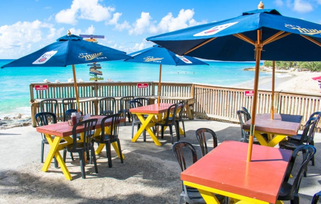 Good Seats Available at Rainbow Beach, St. Croix | SBPR