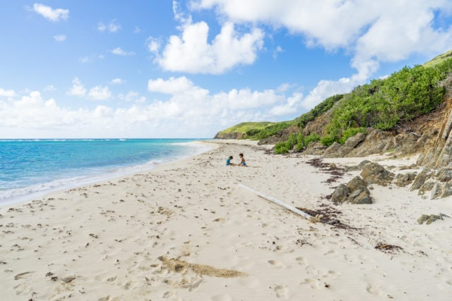 Isaac Bay, East End, St. Croix – December 19, 2017 | Credit: Patrick Bennett