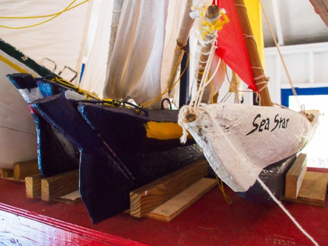 Model Boats in Middle Caicos | SBPR