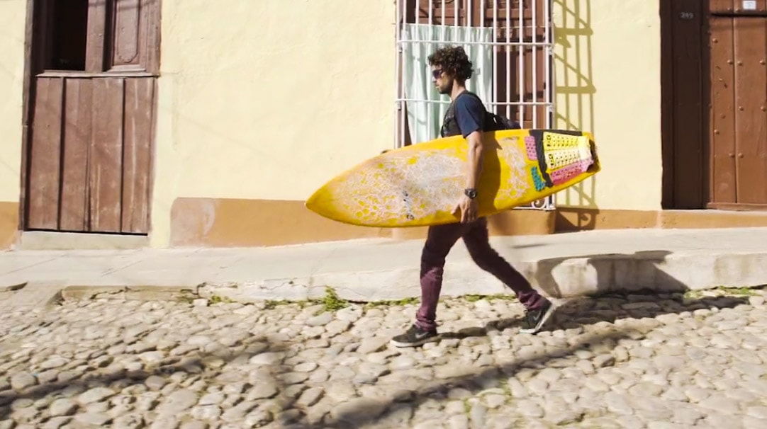 Surfing is illegal in Cuba
