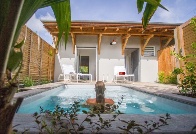 Plunge Pool at French Coco, Martinique